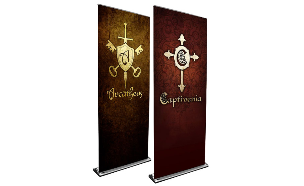 Captivenia and Arcatheos Banners
