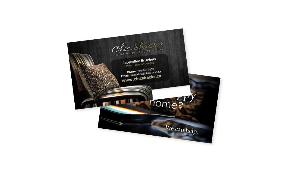Chic Shacks Business Cards