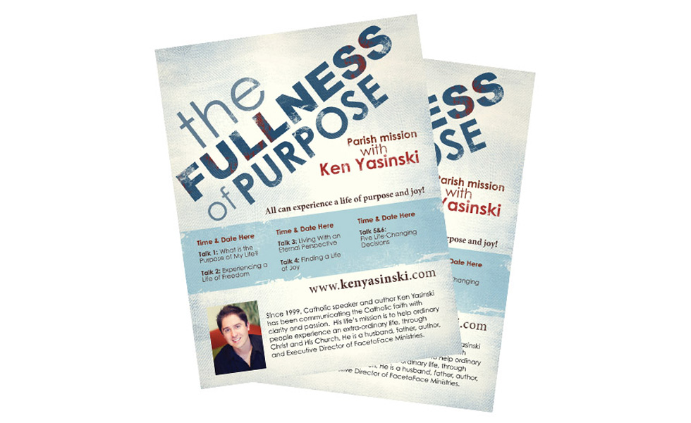 The Fullness of Purpose Ken Yasinski Posters